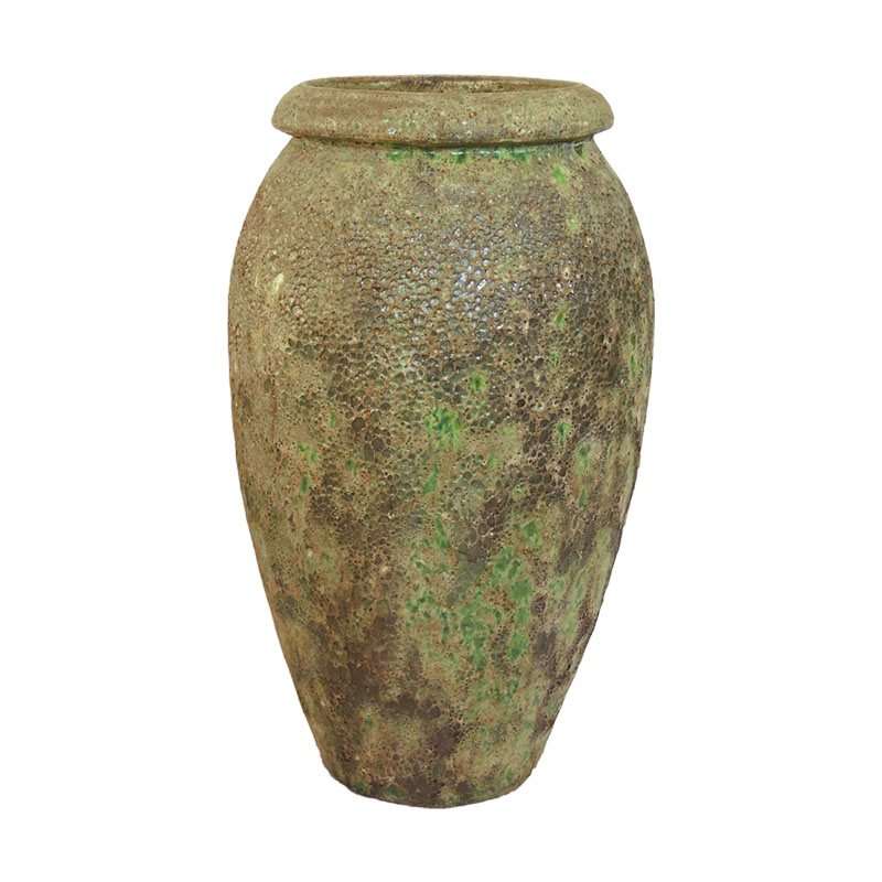 VASOS - LT 1051 BUBBLE GLAZE GREEN